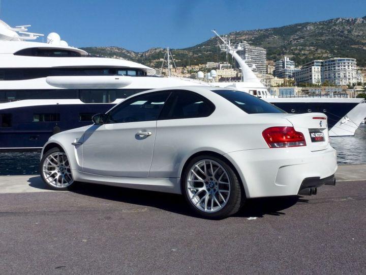 BMW Série 1 E82 COUPE M M1 3.0 340 CV SERIE LIMITEE 062/100 Blanc Alpin Occasion - 14