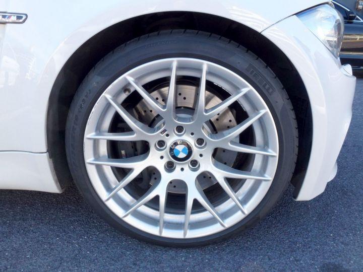 BMW Série 1 E82 COUPE M M1 3.0 340 CV SERIE LIMITEE 062/100 Blanc Alpin Occasion - 15