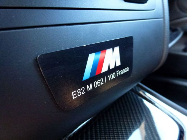 BMW Série 1 E82 COUPE M M1 3.0 340 CV SERIE LIMITEE 062/100 Blanc Alpin Occasion - 21
