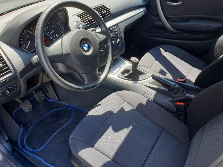 BMW Série 1 E87 5 PORTES 116 I 122 PREMIERE BV6 Gris Anthracite Métallisé Occasion - 7