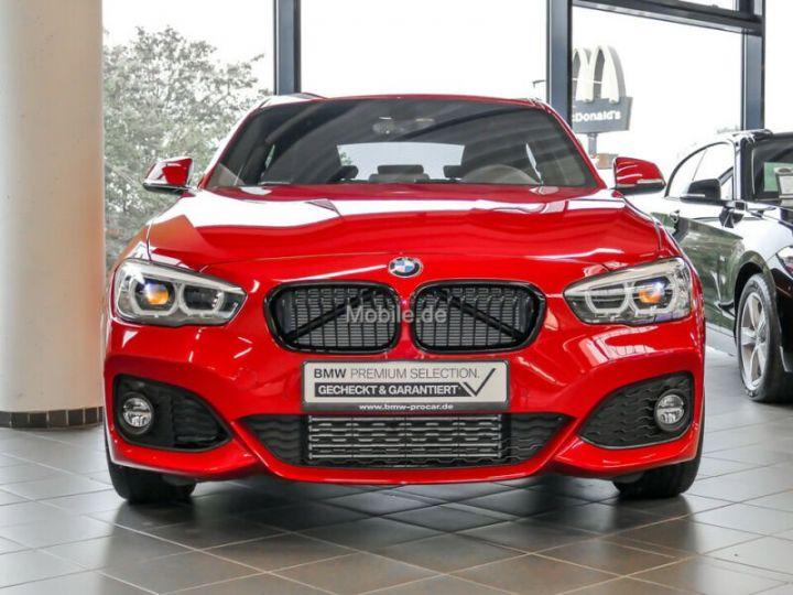 BMW Série 1 # Edition M Sport Aut, 1ere Main Rouge Peinture métallisée - 3