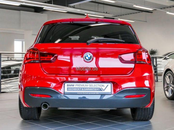 BMW Série 1 # Edition M Sport Aut, 1ere Main Rouge Peinture métallisée - 4