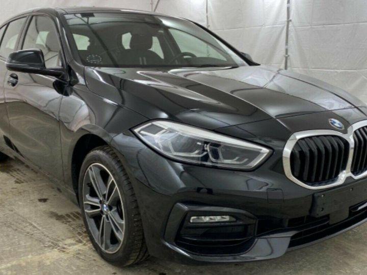 BMW Série 1 (F20) (2) 118DA 150 SPORT -LINE 5P/09/2020/ 6700KM! noir métal - 1