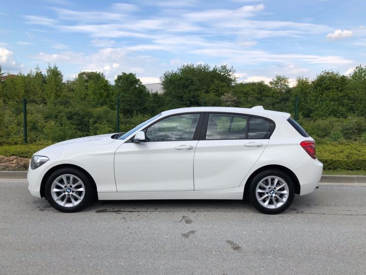 BMW Série 1 F20 2 120D 184 XDRIVE EXECUTIVE 5P h Blanc Occasion - 4