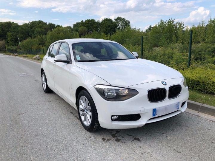 BMW Série 1 F20 2 120D 184 XDRIVE EXECUTIVE 5P h Blanc Occasion - 7