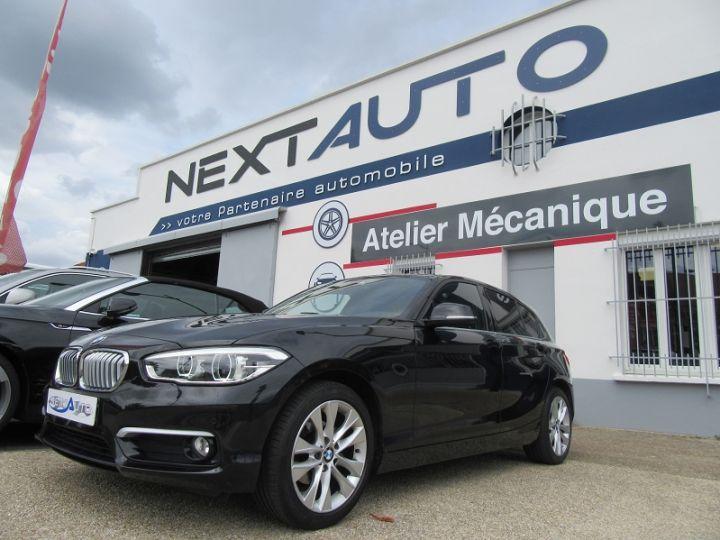 BMW Série 1 (F21/F20) 116D 116CH URBANCHIC 5P Noir Occasion - 1