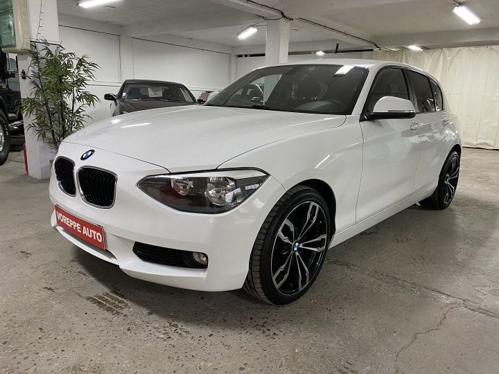 BMW Série 1 (F21/F20) 118D 143CH SPORT 5P Blanc - 1