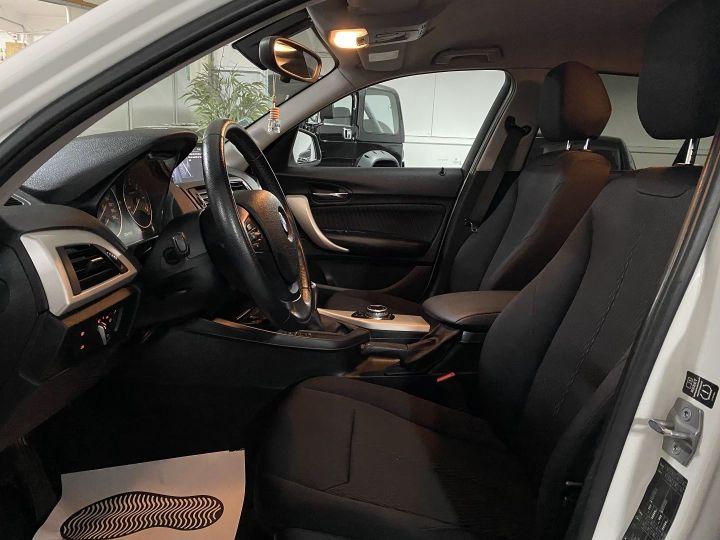 BMW Série 1 (F21/F20) 118D 143CH SPORT 5P Blanc - 8