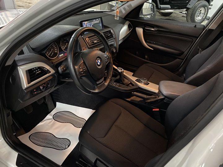 BMW Série 1 (F21/F20) 118D 143CH SPORT 5P Blanc - 9
