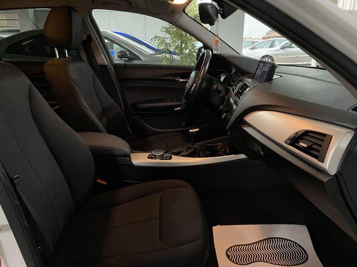 BMW Série 1 (F21/F20) 118D 143CH SPORT 5P Blanc - 10