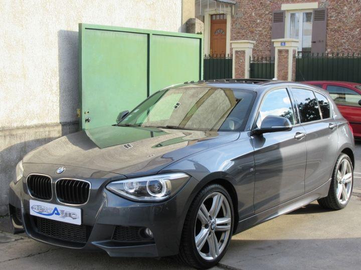 BMW Série 1 F21/F20 120DA 184CH M SPORT 5P GRIS FONCE Occasion - 1