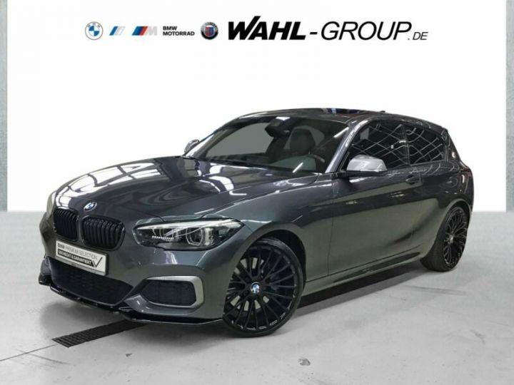 BMW Série 1 M140i gris  - 1