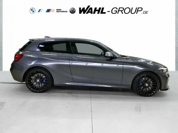BMW Série 1 M140i gris  - 4