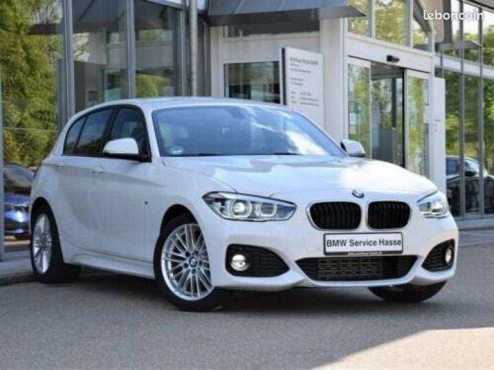 BMW Série 1 Serie 116d M-Sport Blanc - 1