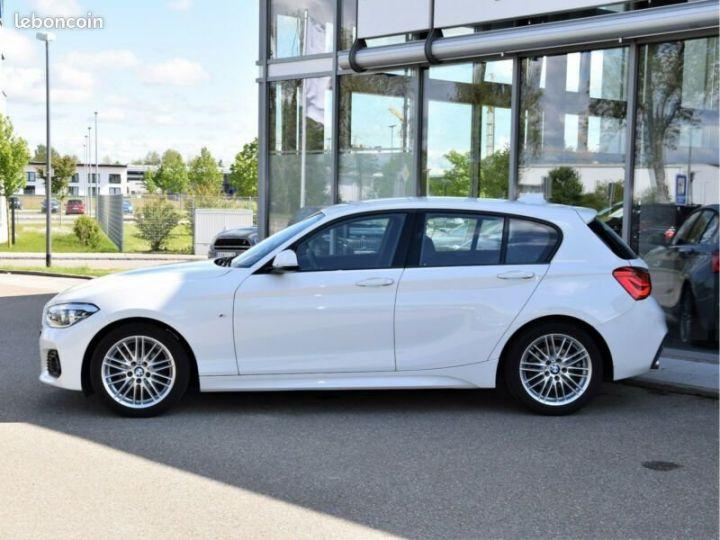 BMW Série 1 Serie 116d M-Sport Blanc - 3