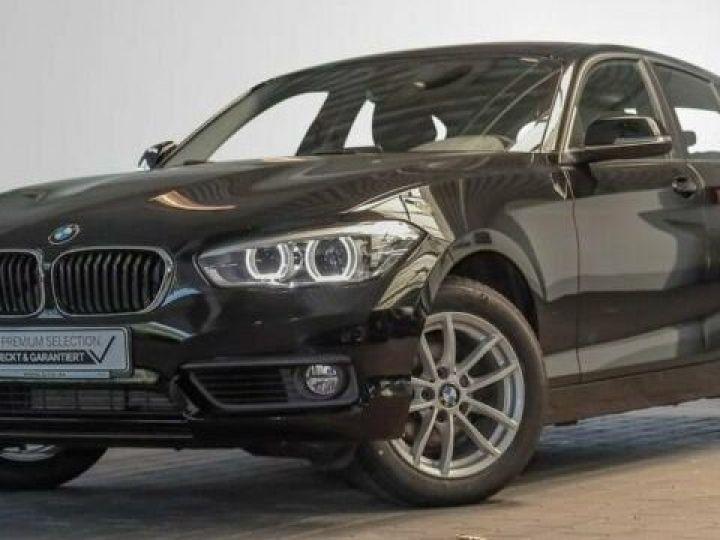 BMW Série 1 Serie 118d 5-Türer Advantage Noir - 1