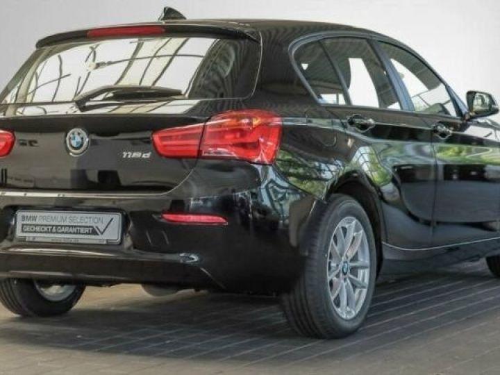 BMW Série 1 Serie 118d 5-Türer Advantage Noir - 2