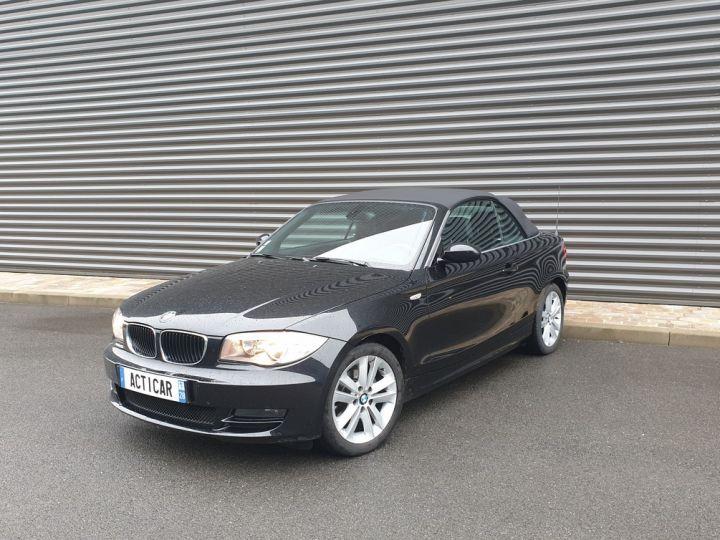 BMW Série 1 serie e88 cabriolet 118d bv6 Noir Occasion - 1