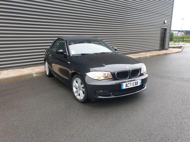 BMW Série 1 serie e88 cabriolet 118d bv6 Noir Occasion - 2