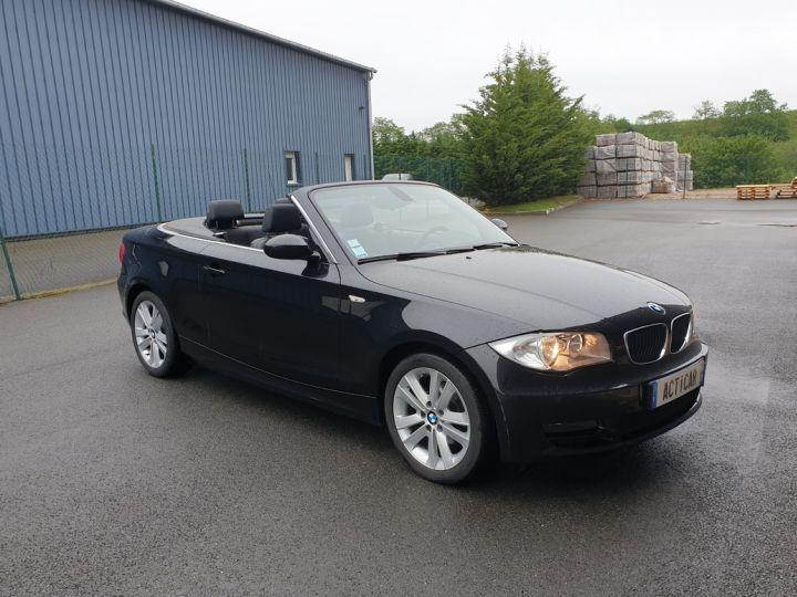 BMW Série 1 serie e88 cabriolet 118d bv6 Noir Occasion - 3