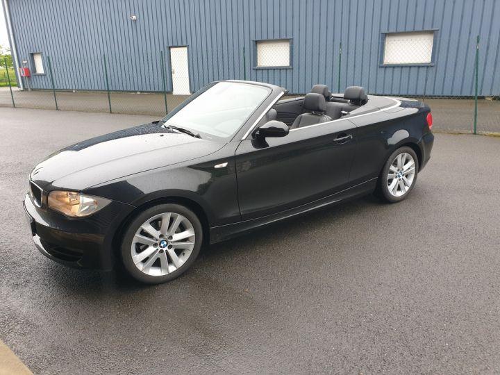 BMW Série 1 serie e88 cabriolet 118d bv6 Noir Occasion - 4