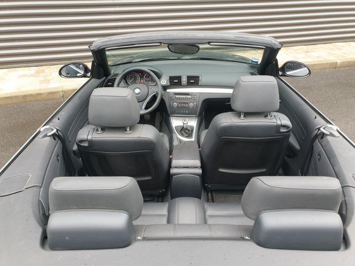 BMW Série 1 serie e88 cabriolet 118d bv6 Noir Occasion - 16