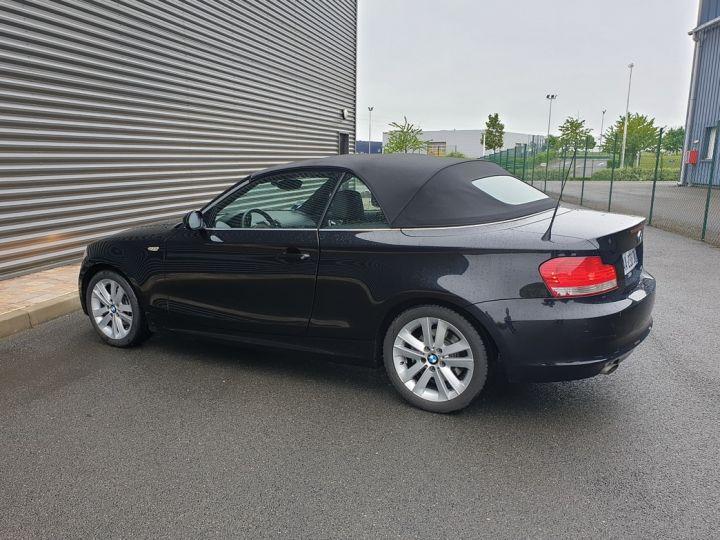 BMW Série 1 serie e88 cabriolet 118d bv6 Noir Occasion - 17