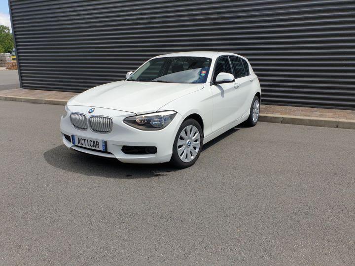 BMW Série 1 serie f20 114 i 102 premiere bv6 5 portes Blanc Occasion - 1