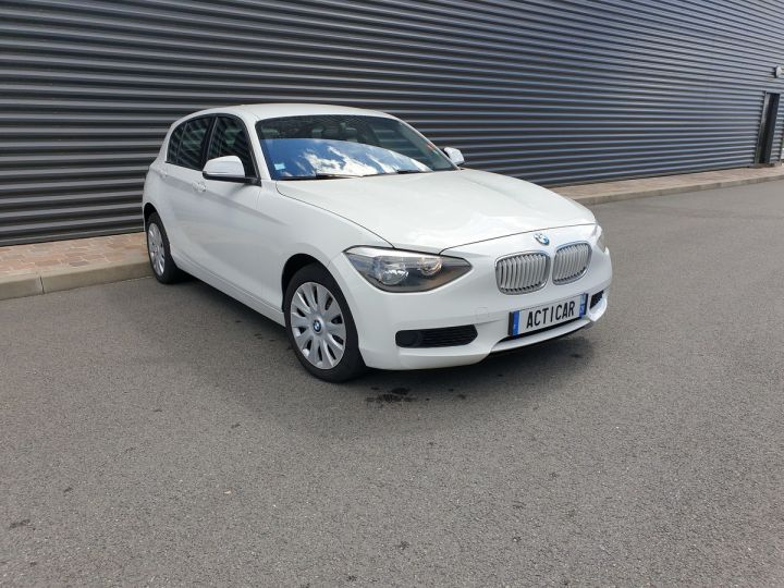 BMW Série 1 serie f20 114 i 102 premiere bv6 5 portes Blanc Occasion - 2