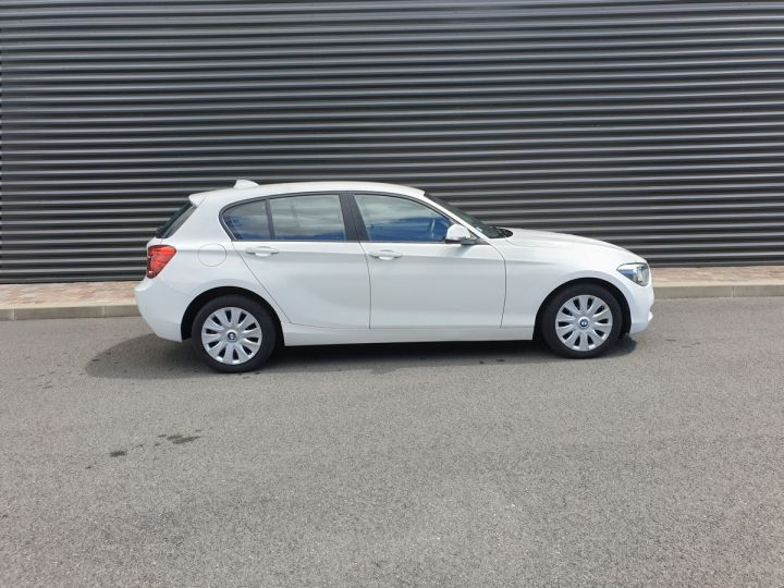 BMW Série 1 serie f20 114 i 102 premiere bv6 5 portes Blanc Occasion - 3