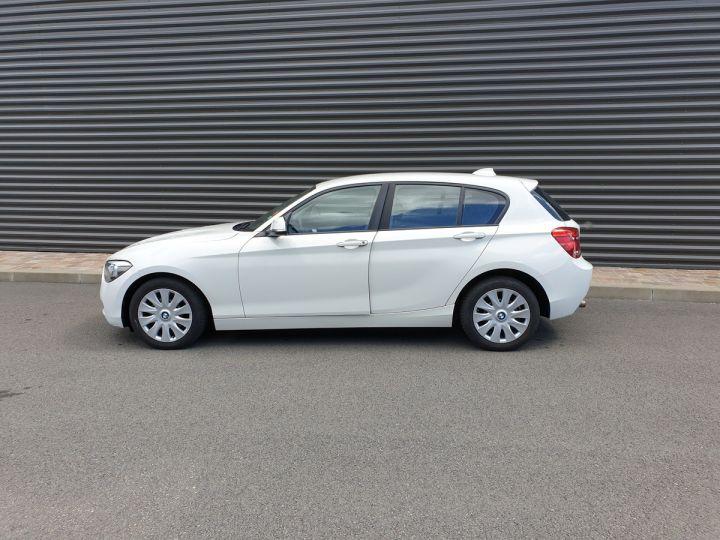 BMW Série 1 serie f20 114 i 102 premiere bv6 5 portes Blanc Occasion - 4