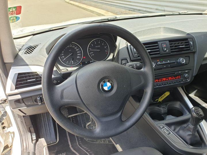 BMW Série 1 serie f20 114 i 102 premiere bv6 5 portes Blanc Occasion - 13