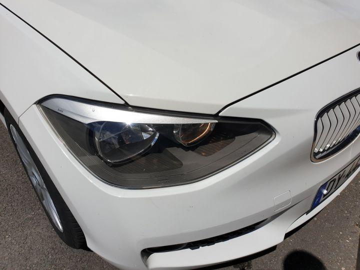 BMW Série 1 serie f20 114 i 102 premiere bv6 5 portes Blanc Occasion - 14