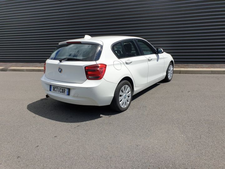 BMW Série 1 serie f20 114 i 102 premiere bv6 5 portes Blanc Occasion - 16