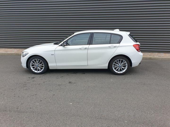BMW Série 1 serie f20 118i 170 sport bva 8.5 portes Blanc Occasion - 4