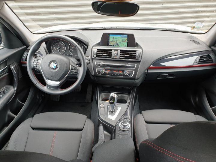 BMW Série 1 serie f20 118i 170 sport bva 8.5 portes Blanc Occasion - 5