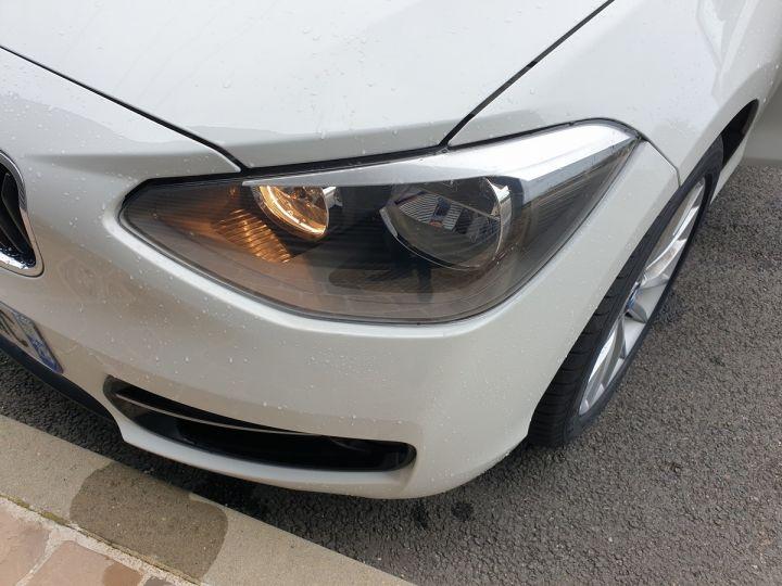 BMW Série 1 serie f20 118i 170 sport bva 8.5 portes Blanc Occasion - 17