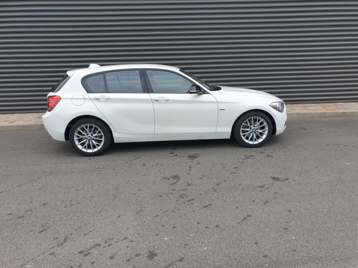 BMW Série 1 serie f20 118i 170 sport bva 8 5p Blanc Occasion - 3