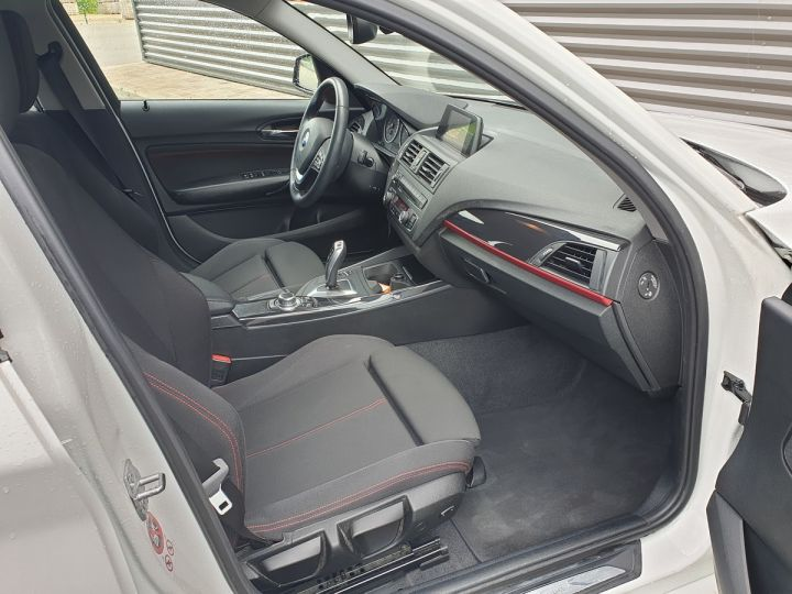 BMW Série 1 serie f20 118i 170 sport bva 8 5p Blanc Occasion - 10