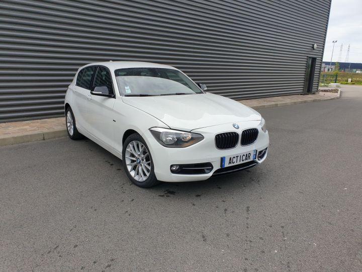 BMW Série 1 serie f20 118i 170 sport bva 8 5p ii Blanc Occasion - 2
