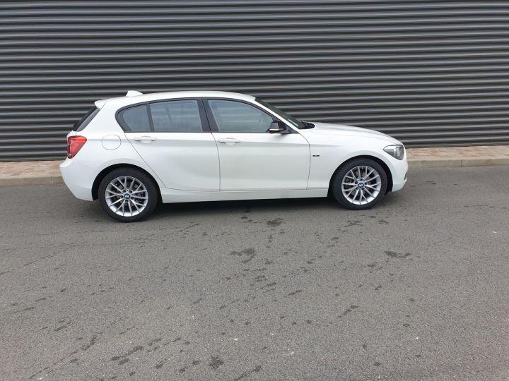 BMW Série 1 serie f20 118i 170 sport bva 8 5p ii Blanc Occasion - 3