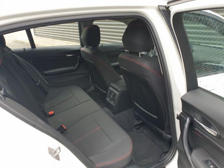 BMW Série 1 serie f20 118i 170 sport bva 8 5p ii Blanc Occasion - 7