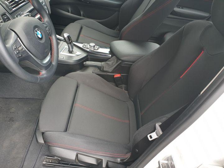 BMW Série 1 serie f20 118i 170 sport bva 8 5p ii Blanc Occasion - 16