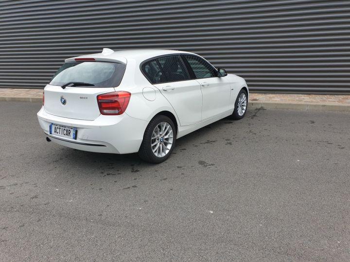 BMW Série 1 serie f20 118i 170 sport bva 8 5p ii Blanc Occasion - 18