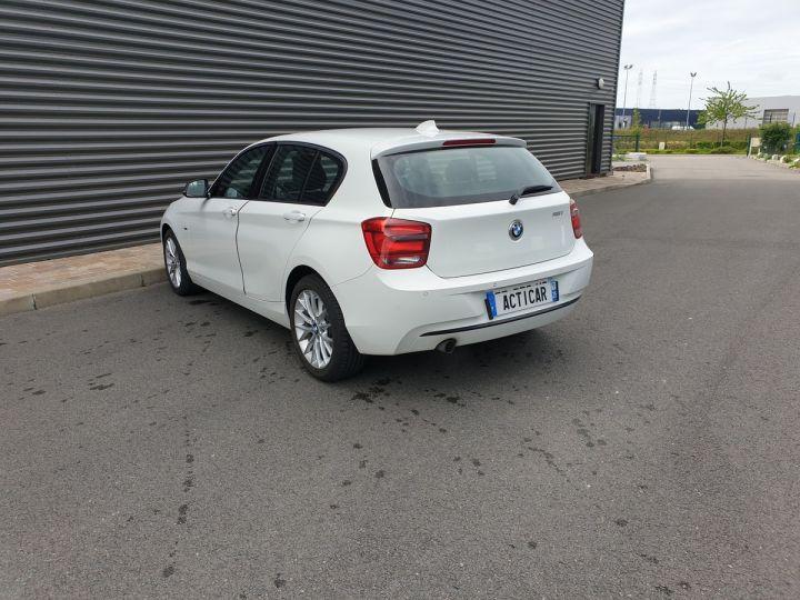 BMW Série 1 serie f20 118i 170 sport bva 8 5p ii Blanc Occasion - 19