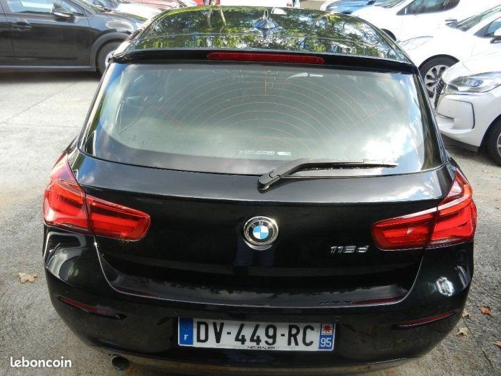 BMW Série 1 Serie (F20) LCI 116d Efficient Dynamics EDITION EXECUTIVE Noir - 2