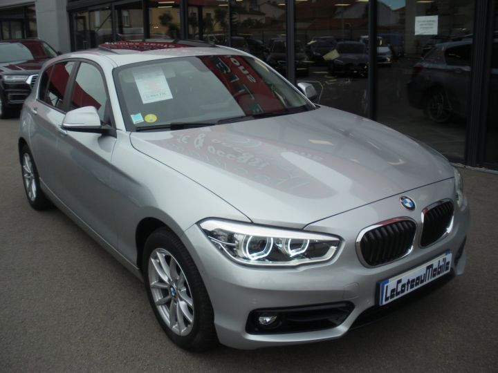 BMW Série 1 SERIE II 118D XD BUSINESS DESIGN gris - 2