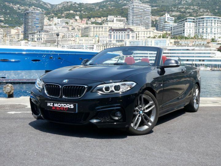 BMW Série 2 220 D CABRIOLET 190 CV M SPORT Noir Saphir Métal Occasion - 3