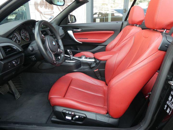 BMW Série 2 220 D CABRIOLET 190 CV M SPORT Noir Saphir Métal Occasion - 16