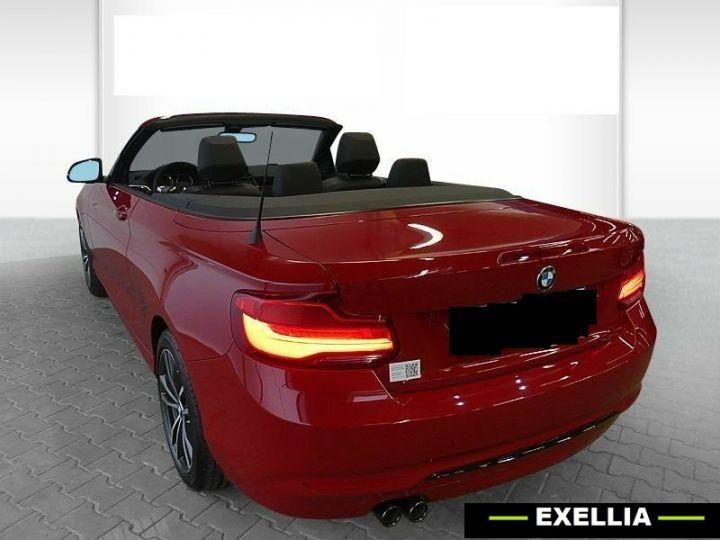 BMW Série 2 220d Cabrio  ROUGE PEINTURE METALISE  Occasion - 4